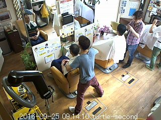 Friseur Laden Webcam Kaitogo, Kyoto